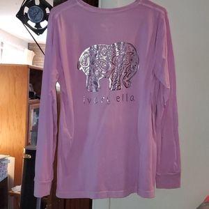 Large Ivory Ella Long sleeved tee